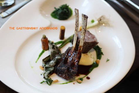 Chef Jarad Gallagher - Coffee-flavored Rack of Lamb