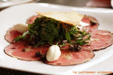 Beef & Foie Gras Carpaccio