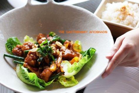 Thai Stir-Fry Seafood