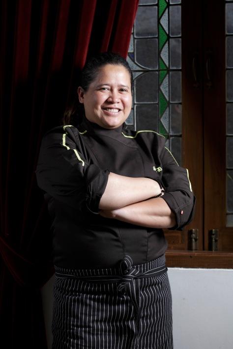 Chef Sandra Djohan