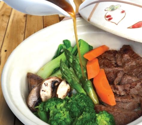 Organic Rice & Beef Claypot