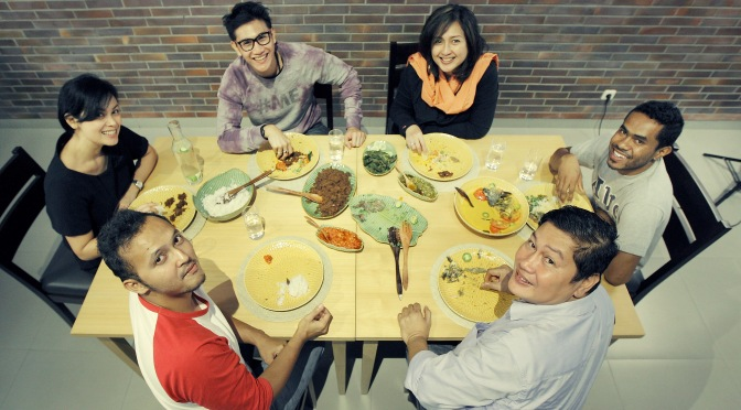 Cover Feature: A Good Reason To Gather – with Tabula Rasa (The Foodie Magazine, Sept 2014)