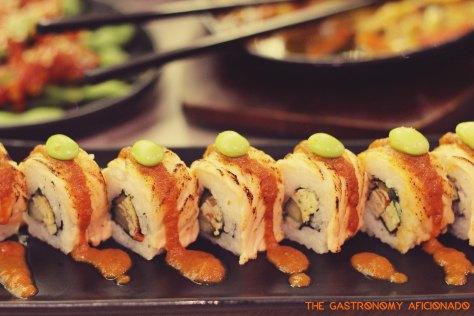 Salmon Asam Padeh Roll