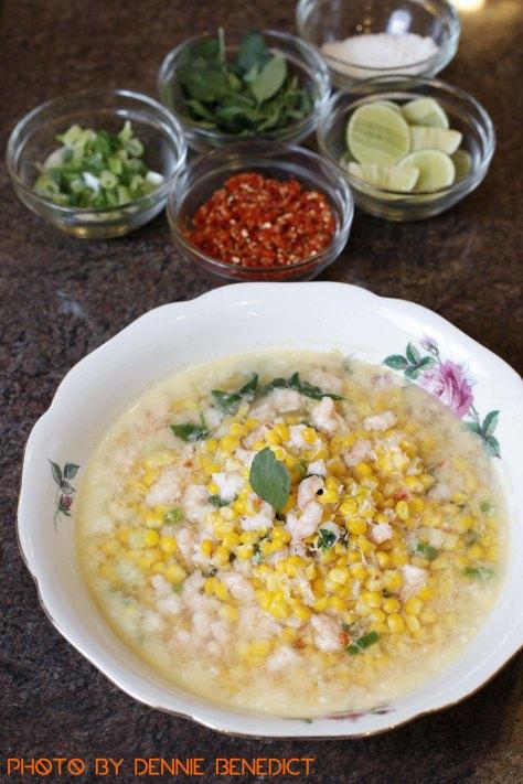 Binthe Biluhuta (Gorontalese corn soup)