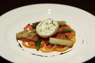 Chef Gianluca Visciglia's Burrata 1