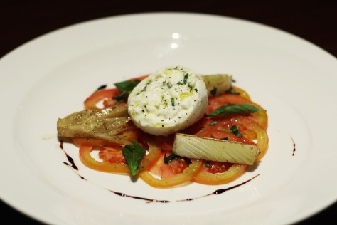Chef Gianluca Visciglia's Burrata 1