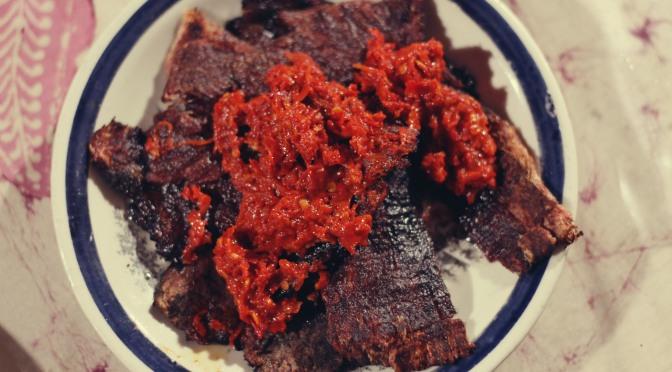 Dish That I Crave: The Real Dendeng Batokok!