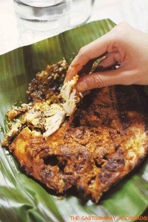 Ikan Bakar Khas Padang