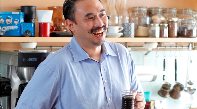 Cover Feature: Pseudo Espresso vs The Machine with Adi Taroepratjeka (The Foodie Magazine, Mar 2015)