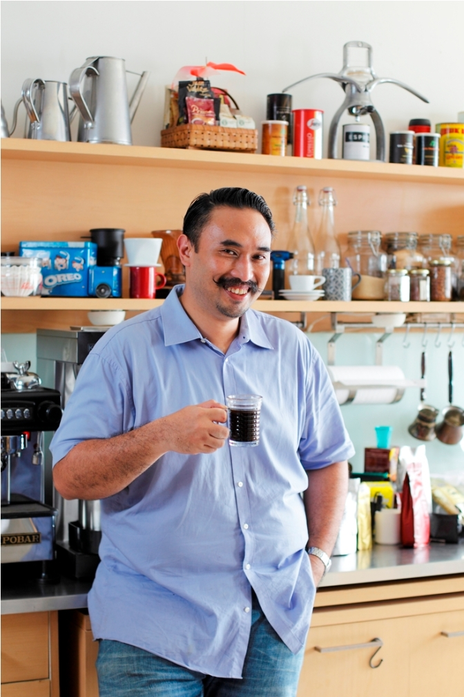Cover Feature: Coffee Cupping with Adi Taroepratjeka (The Foodie Magazine, Mar 2015)