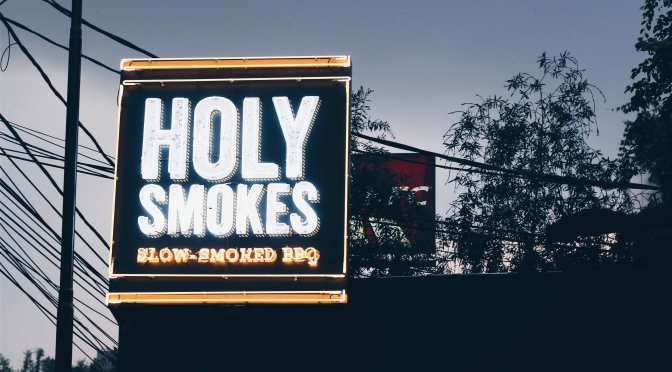 Quikskoop™: Holy Smokes