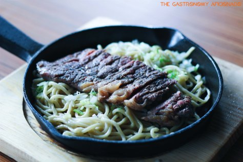 "Hot Plate Beef ""Hajime"""