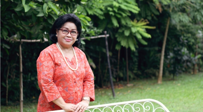 Stuff of Legends: Linda F. Adimidjaja (The Foodie Magazine, Apr 2015)