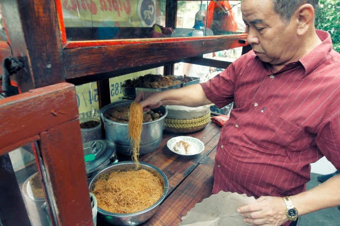Taking It To The Streets: Nasi Ulam Pak Misjaya (The Foodie Magazine, Jul 2015)