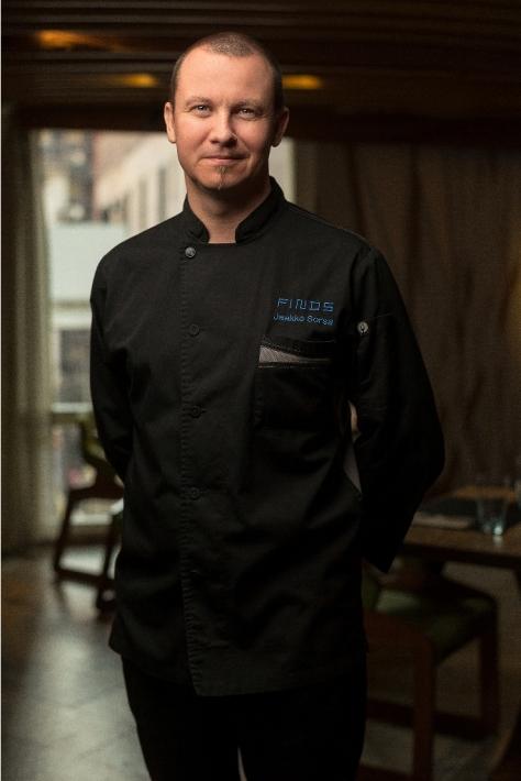 Chef Jaakko Sorsa