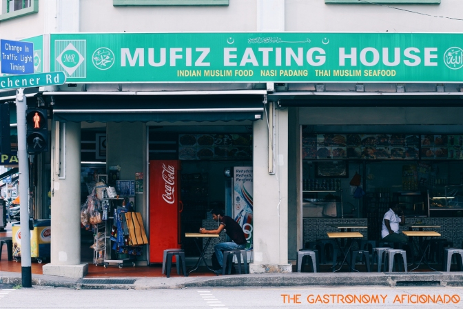 Halal Eat Out: Mufiz Eating House – Singapore