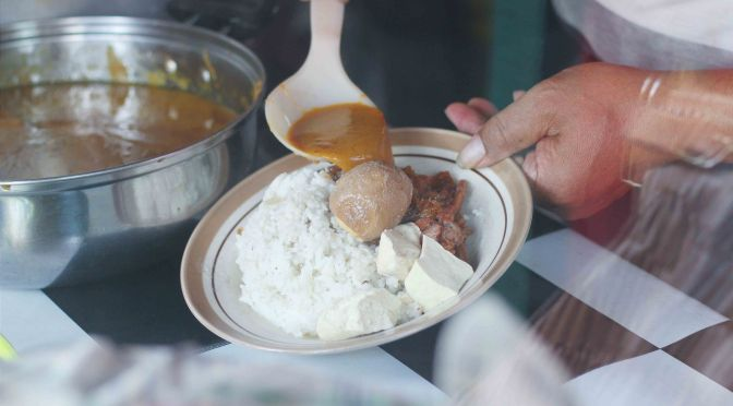 Street Food: Gudeg Cihapit Pak Ramidin