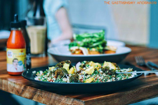 Menu Highlights: The Vegetarian Dishes of ST. ALi – Jakarta