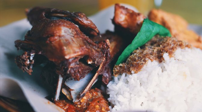 Searching for Street Food: Nasi Bebek Khas Madura Bu Hamidah (FoodieS, Mar 2016)