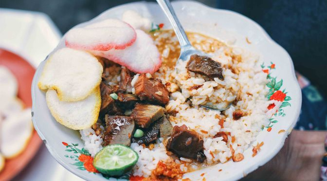 Searching for Street Food: Nasi Gule Pak Lasimin (FoodieS, Mar 2016)