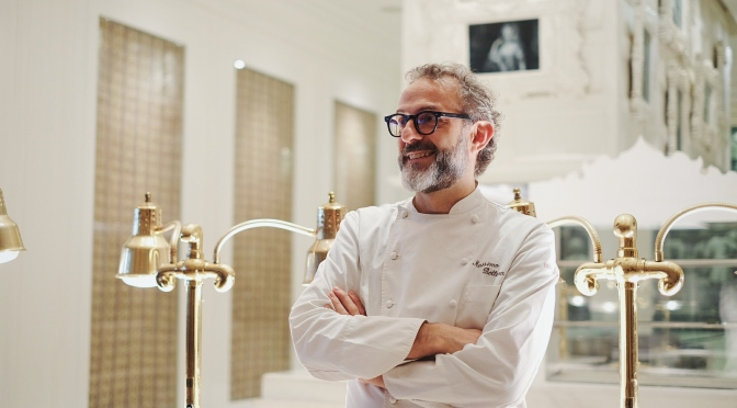 A Dinner to Remember with Massimo Bottura (FoodieS & Qubicle, Apr 2016)