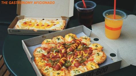 BBQ Frankfurter Pizza 3
