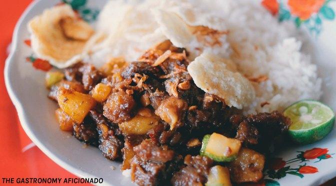 Street Food: Soto Goreng Ateng