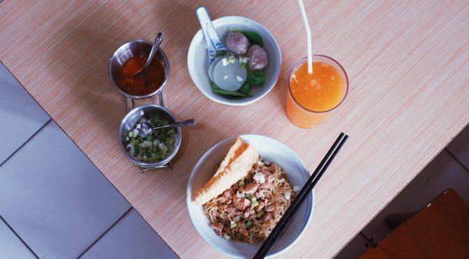Bakmi Win, The Wonder Noodle Shop in Southern Jakarta