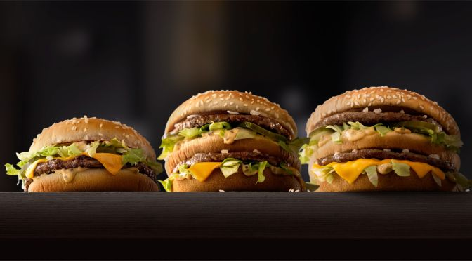 Big Mac Now Comes With Different Sizes!