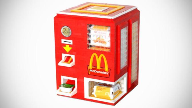 Foodie Gadgets: DIY Lego Vending Machine