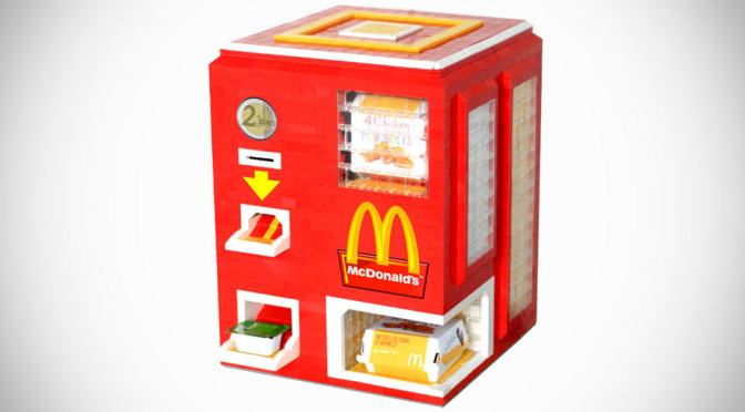 Foodie Gadgets: DIY Lego Vending Machine