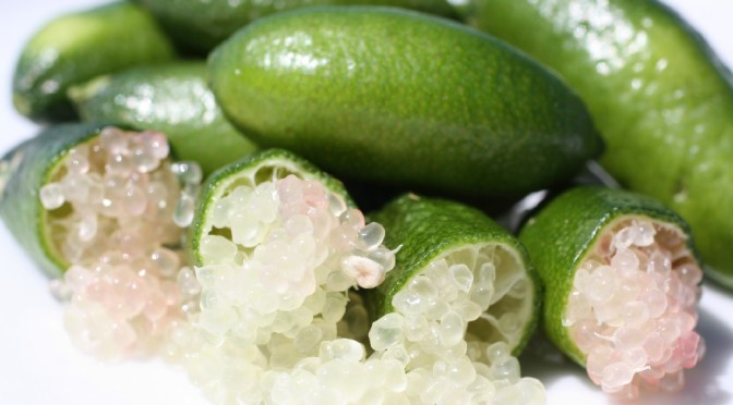 """Apparently There is a Thing Out There Called """"Finger Lime"""""""